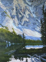 afternoon light moraine lake SOLD