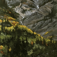 fall colour in rogers pass SOLD