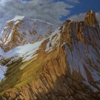 mount louis reaching upward SOLD
