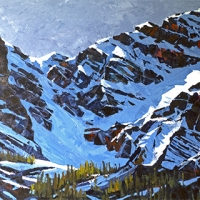 mountain ridges SOLD