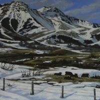 spring in the foothills SOLD