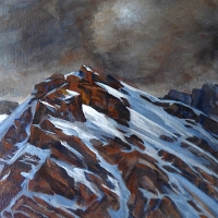 stormy mountain SOLD