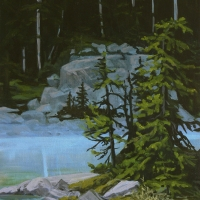 cool forest water SOLD