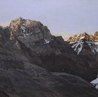golden crowned moutain top SOLD