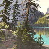 lake o'hara shoreline trail SOLD