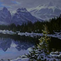 lonely larch - linda lake