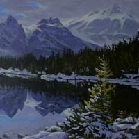 lonely larch - linda lake