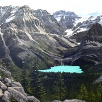 odaray highline trail above lake ohara SOLD