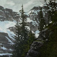 on the edge looking across  SOLD